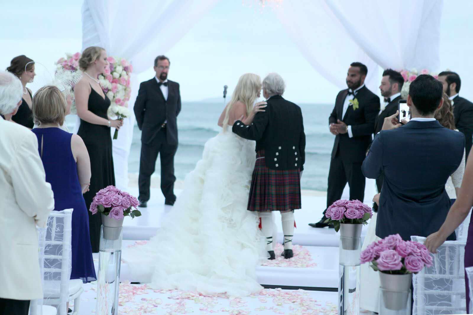 wedding planner puerto vallarta, wedding-ceremony Jen and Orvin